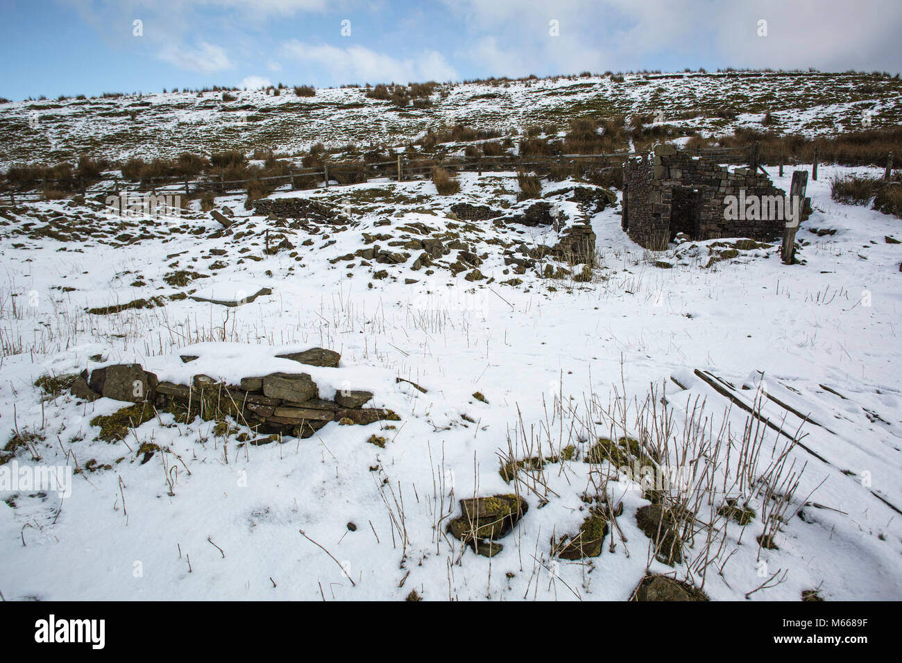 Darwen Moor, West Pennine Moors. - Stock Image