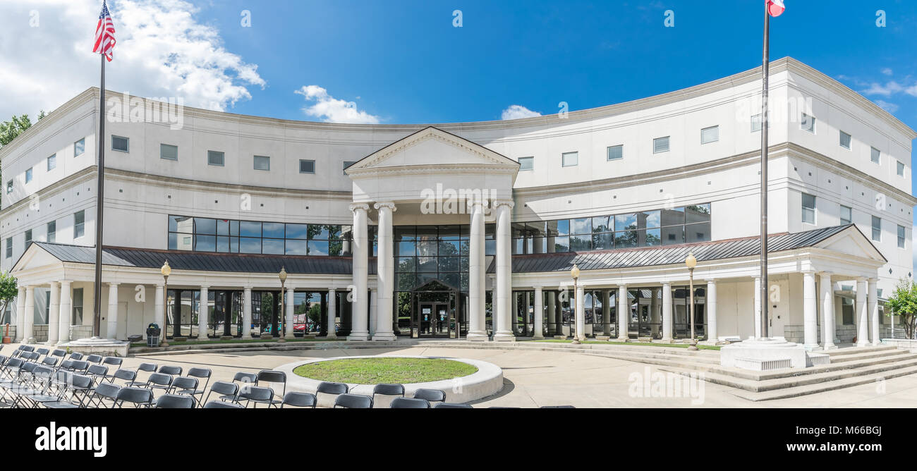 The Lee County Mississippi Justice Center. - Stock Image