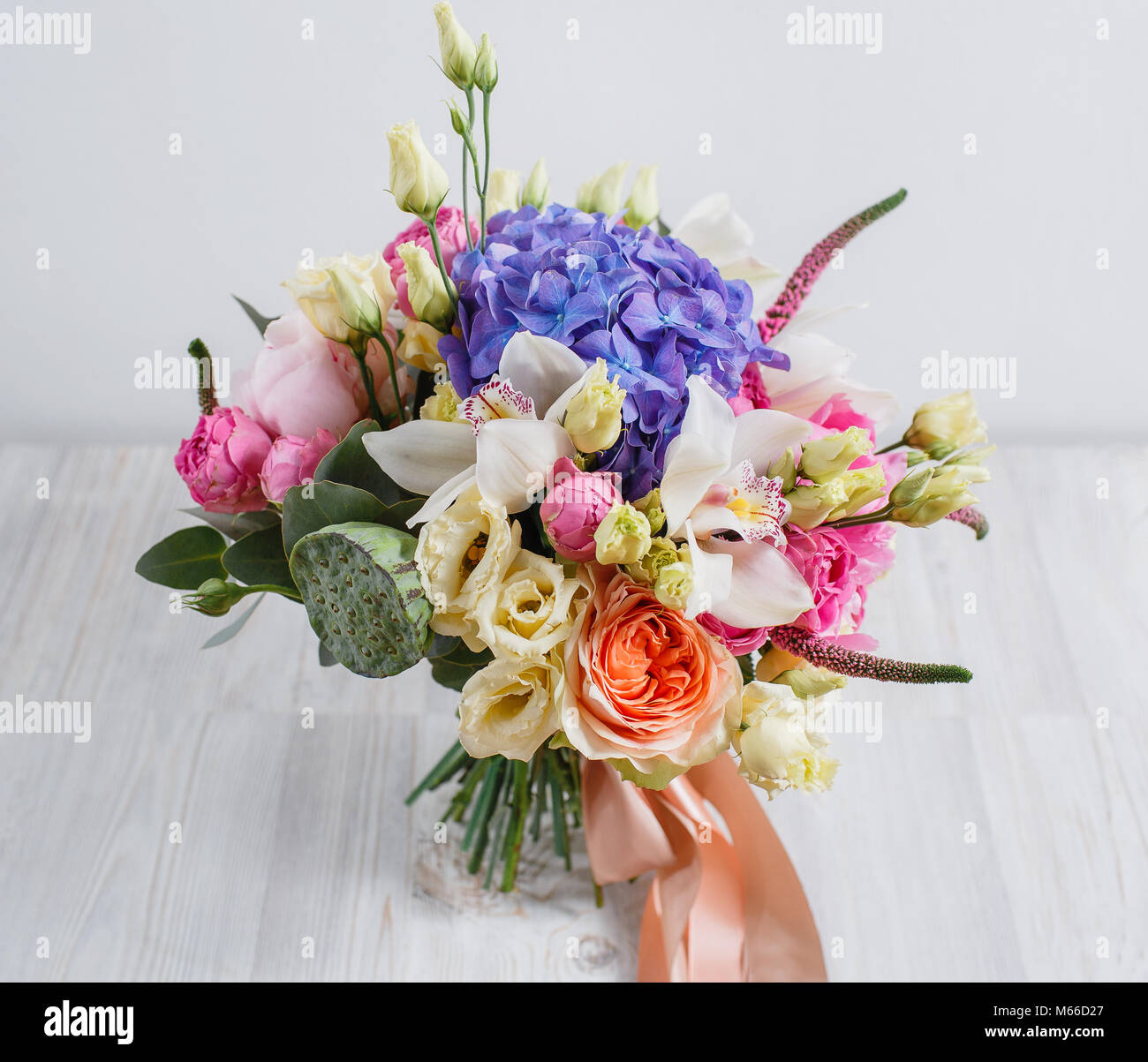 Beautiful bouquet of different flowers colorful color mix flower on beautiful bouquet of different flowers colorful color mix flower on a table izmirmasajfo