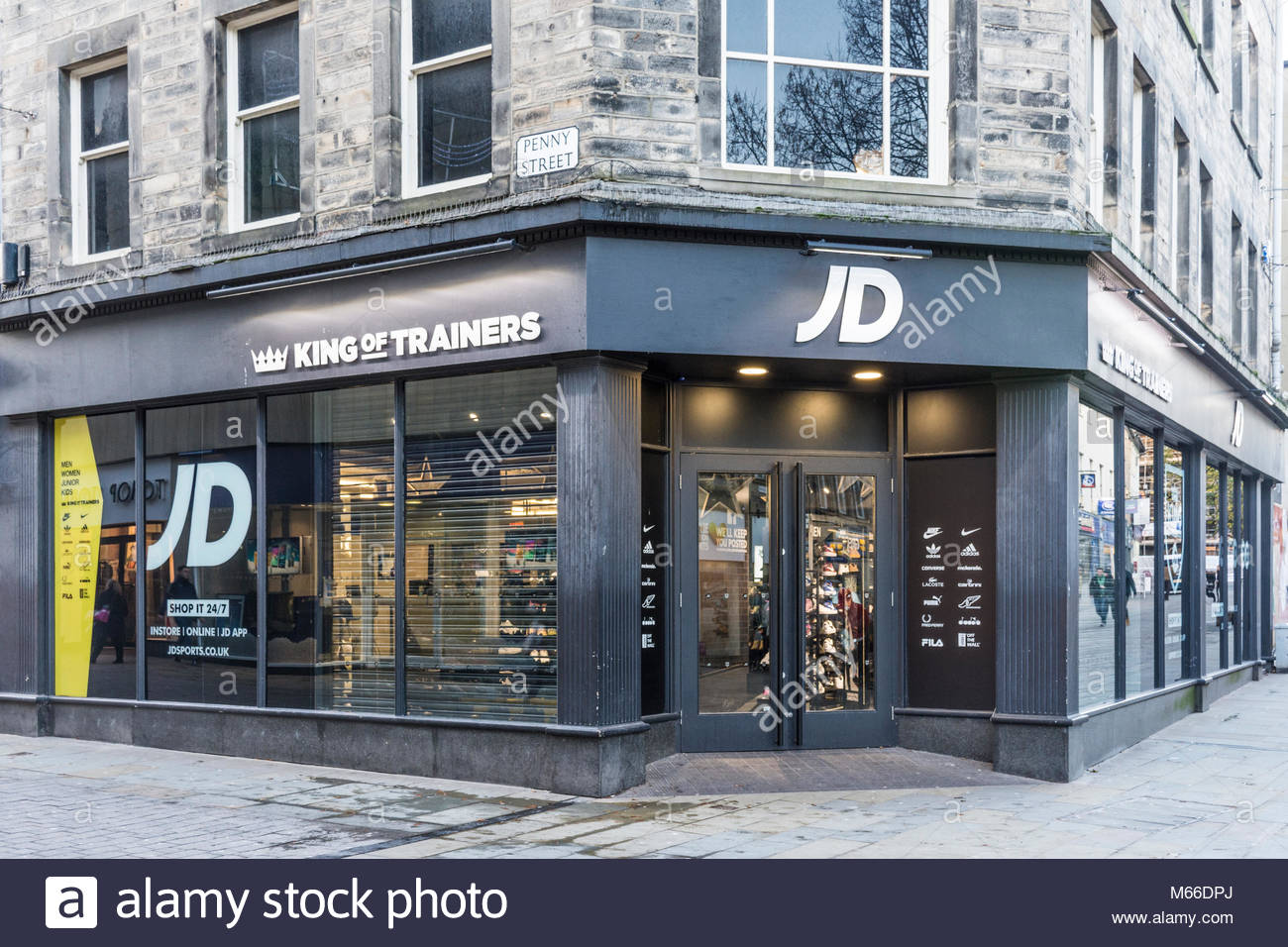 JD Trainers / JD Sports shop on the