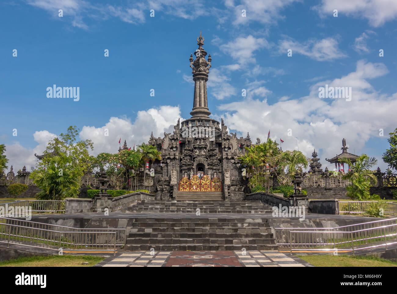 Bajra Sandhi Monument or Monumen Perjuangan Rakyat Bali, Denpasar, Bali, Indonesia. - Stock Image