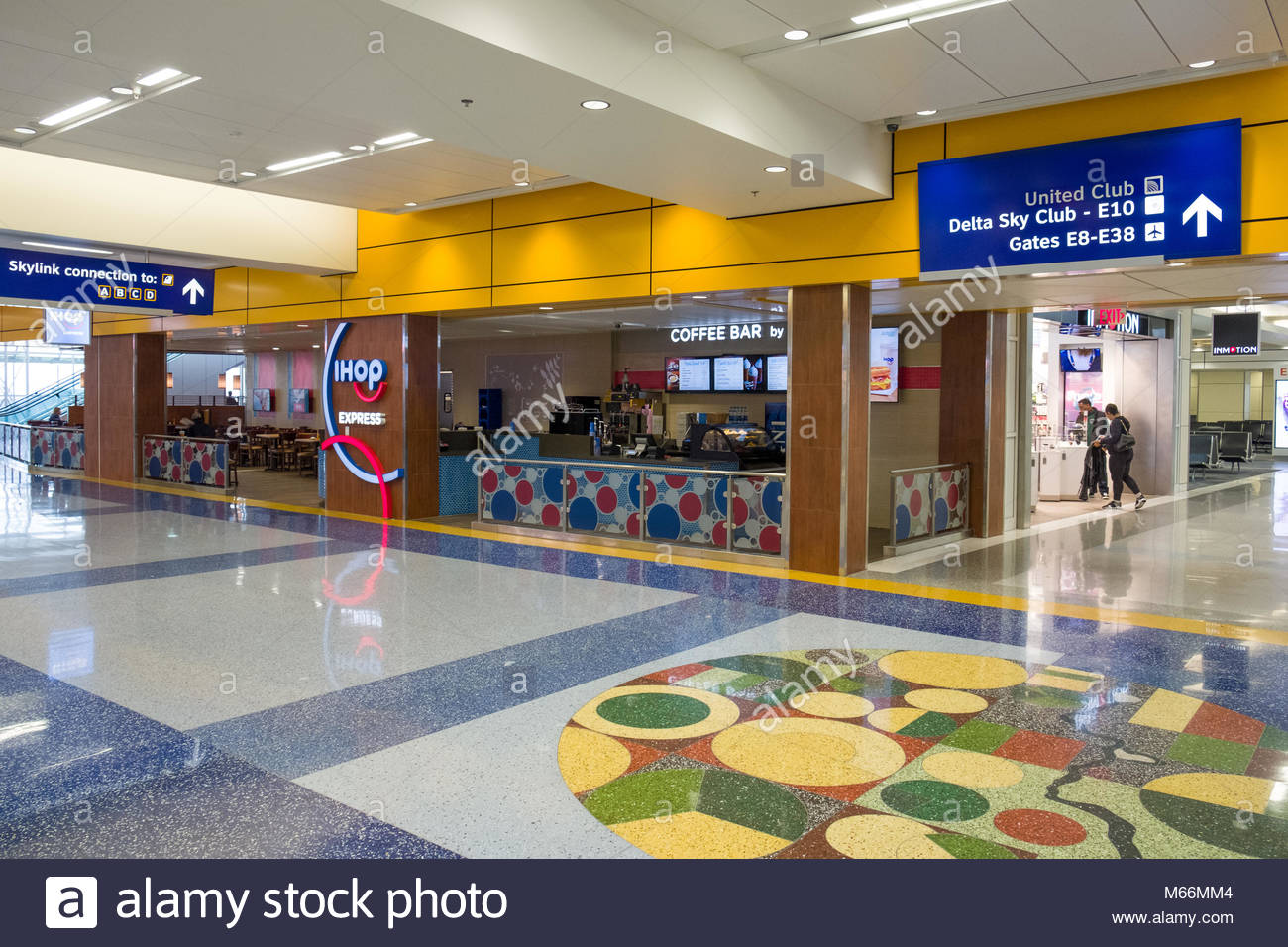 Ihop Express Restaurant Inside Terminal E At The Dallasfort Worth