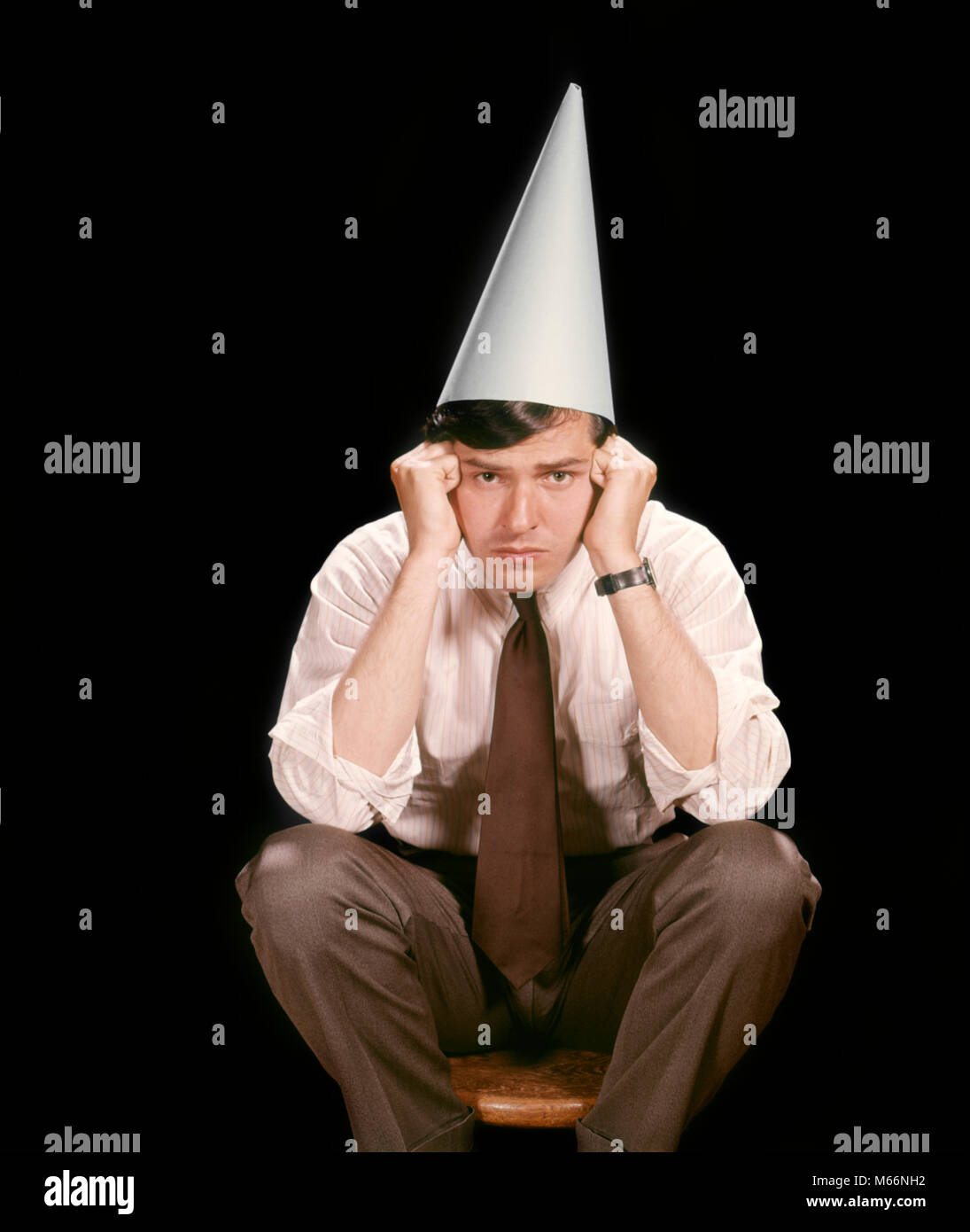 Image result for images of professor in dunce cap