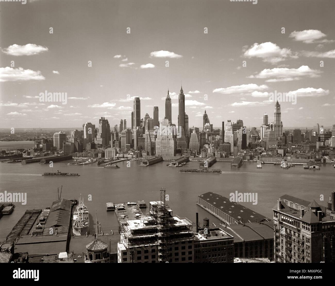 New York City Piers Manhattan