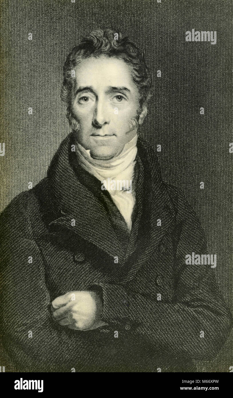 Scottish judge and literary critic Francis Jeffrey - Stock Image