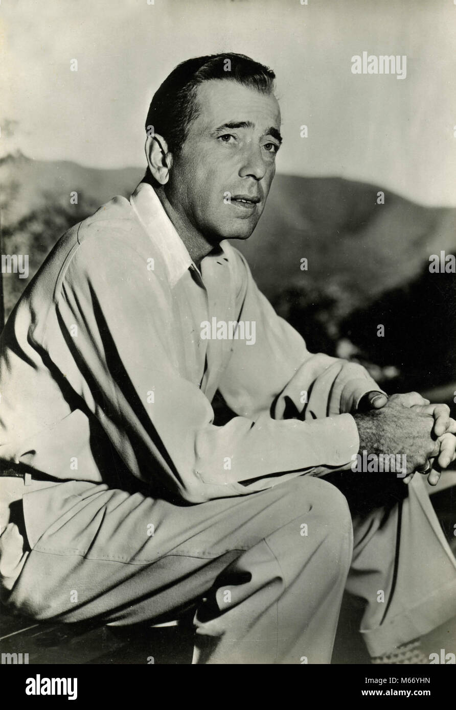 American actor Humphrey Bogart, 1930s - Stock Image
