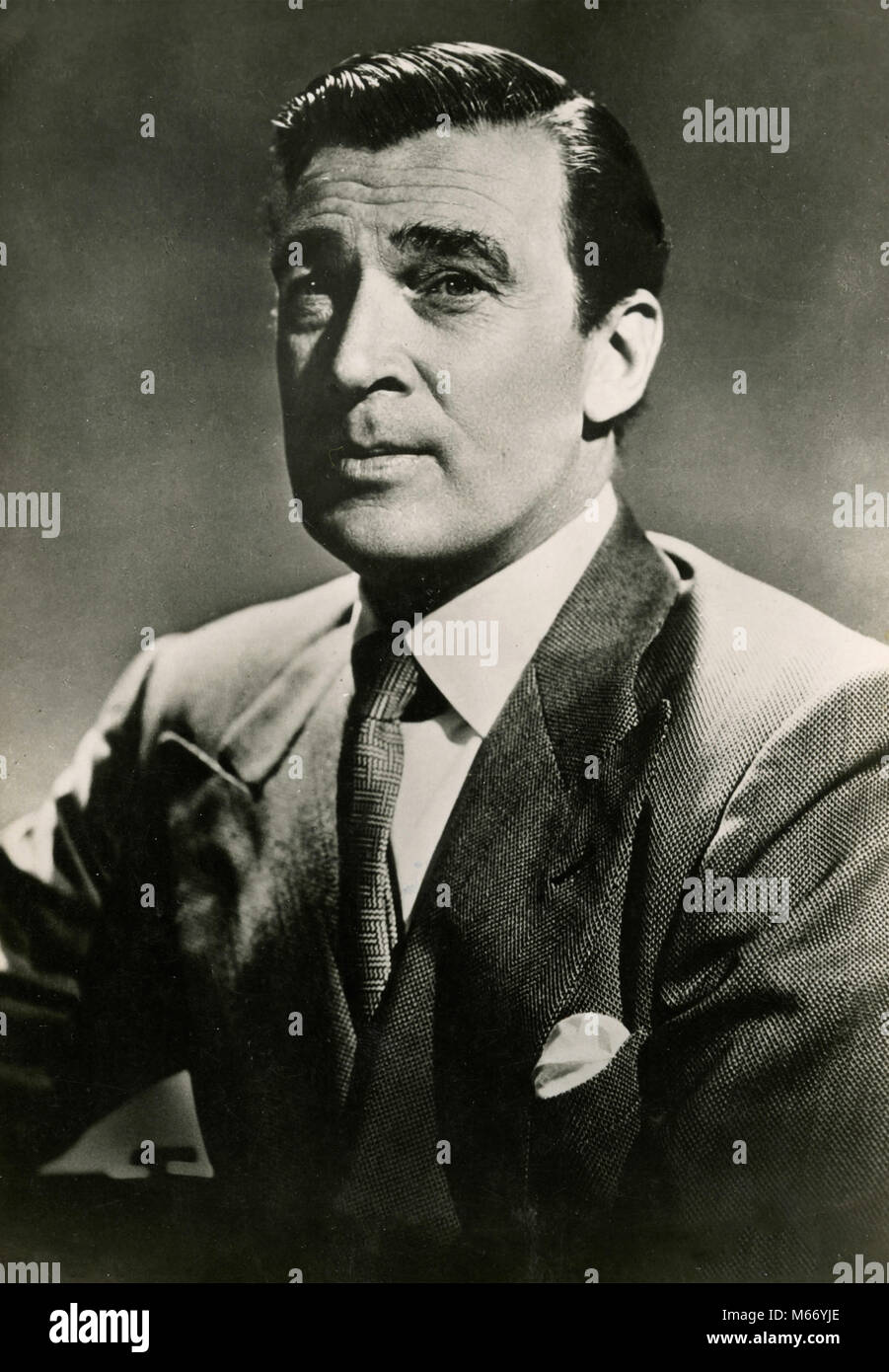 Canadian actor Walter Pidgeon, 1930s - Stock Image