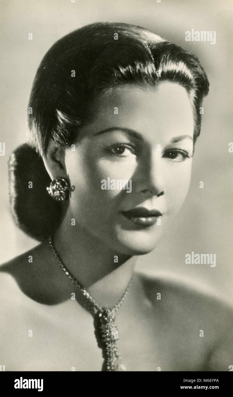 Dominican actress Maria Montez, 1930s - Stock Image
