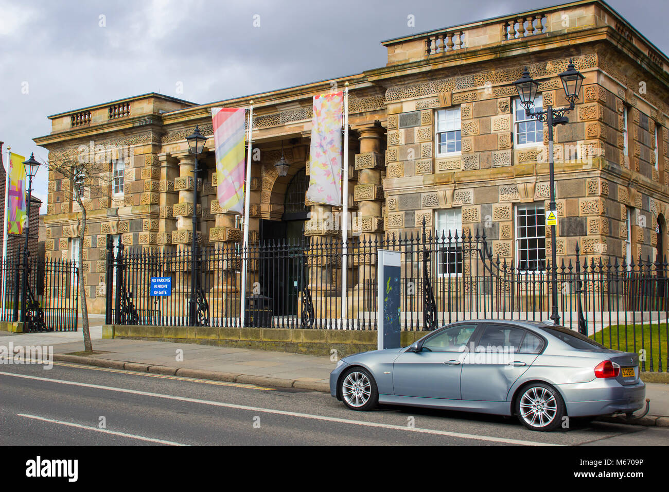 The old Victorian prison on the Crumlin Road in Belfast Northern Ireland now a popular tourist attraction and reception - Stock Image
