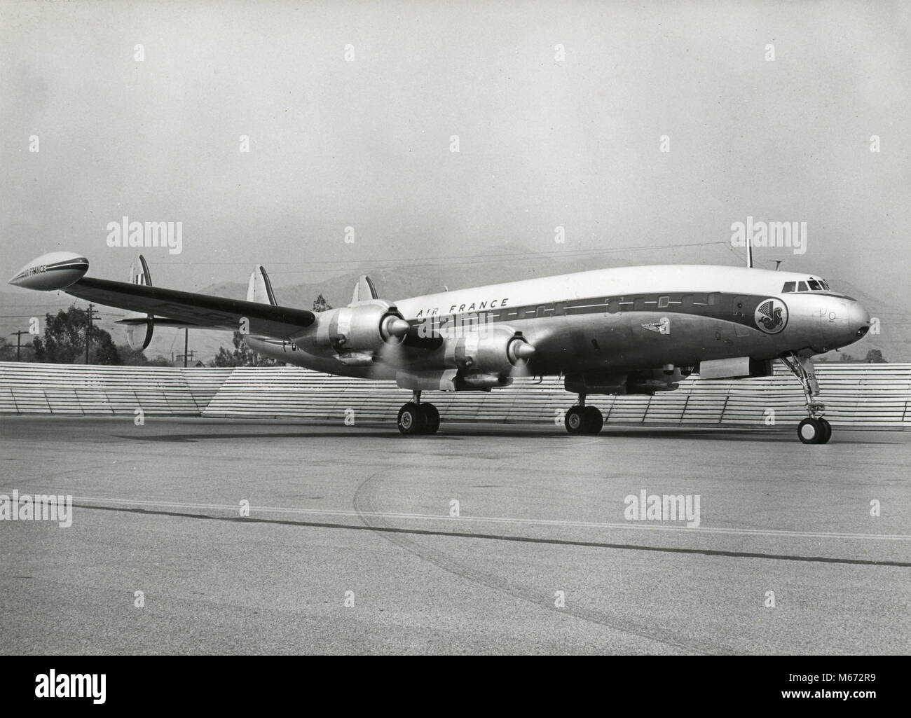 Air France Lockheed L-1049 Super Constellation, 1950s