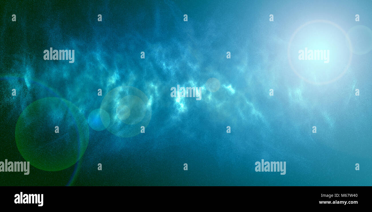 Universe space stars galaxy abstract background - Stock Image