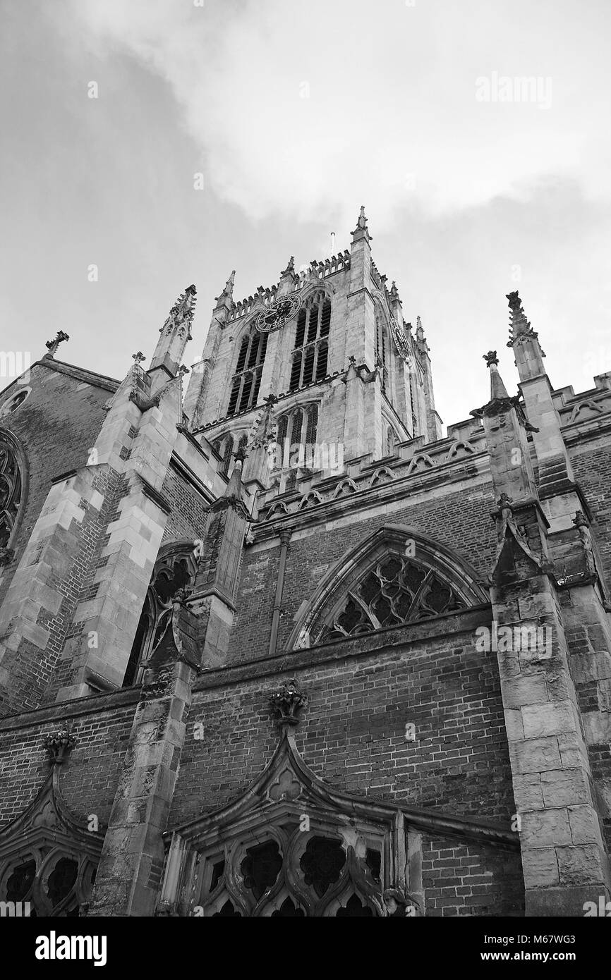 Hull Minster, Holy Trinity Church, Market Place, Kingston Upon Hull, East yorkshire - Stock Image