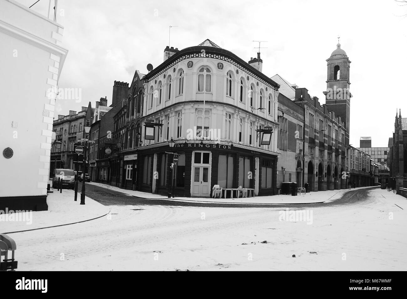 Trinity Quarter, Trinity Square, Trendy area, Kingston upon Hull - Stock Image