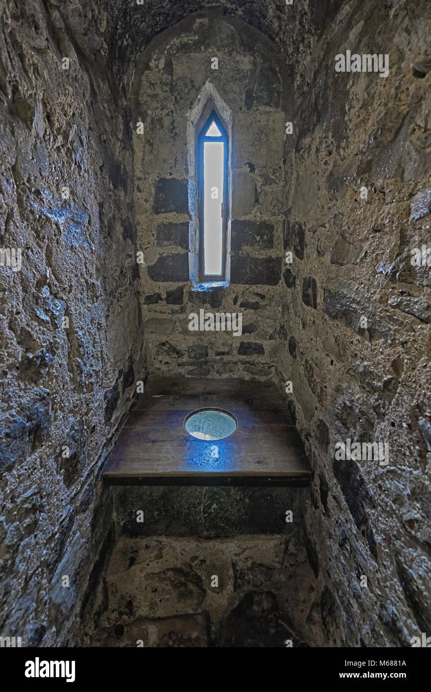 Medieval Toilet Castle Garderobe