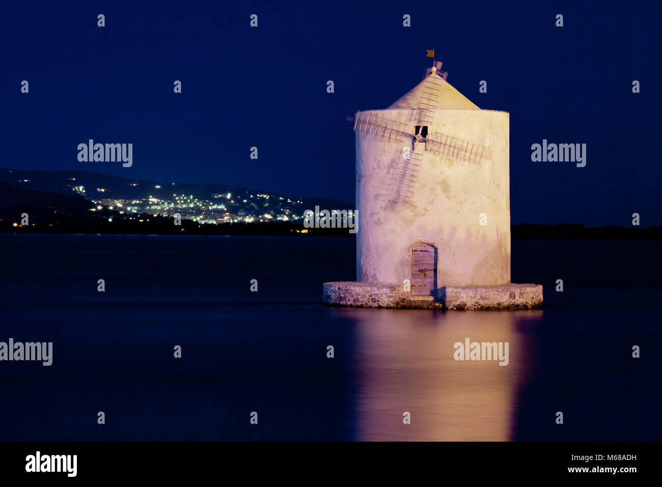 Porto Santo Stefano  is a seaport town near Grosseto, Tuscany - Stock Image
