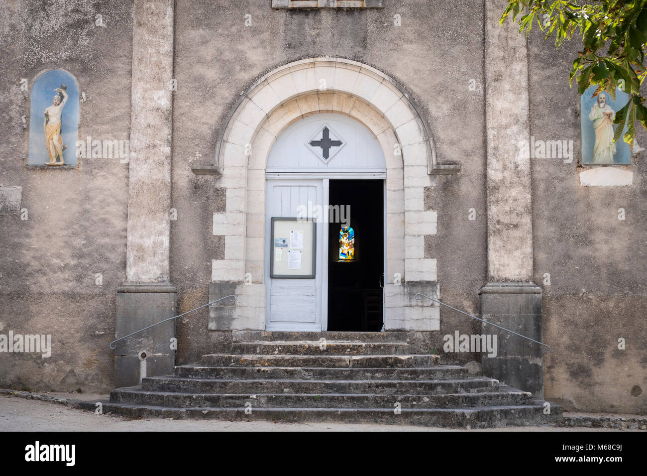 St Thome Privas Ardèche Auvergne-Rhône-Alpes France - Stock Image