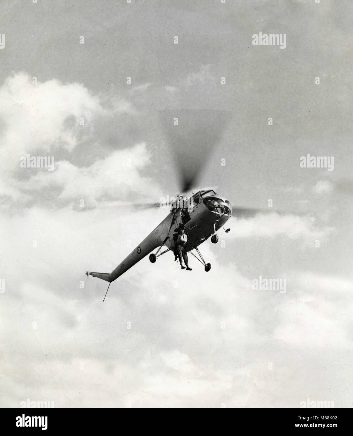 Bristol Type 171 MX 50 helicopter, 1958 - Stock Image