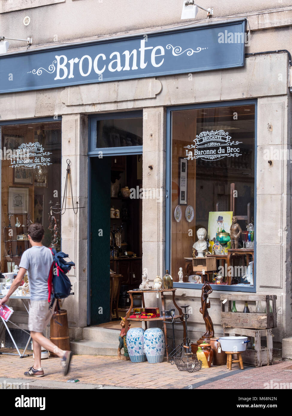 Bric A Brac Saone Et Loire brocante france stock photos & brocante france stock images