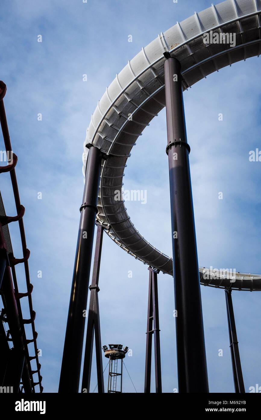 Blackpool Pleasure Beach - Stock Image