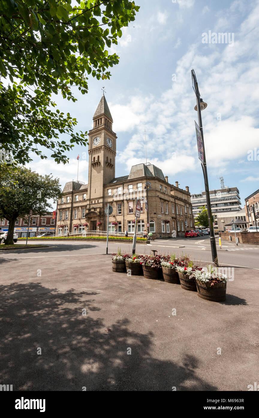 Chorley Town Hall Lancashire England Uk Stock Photo Alamy