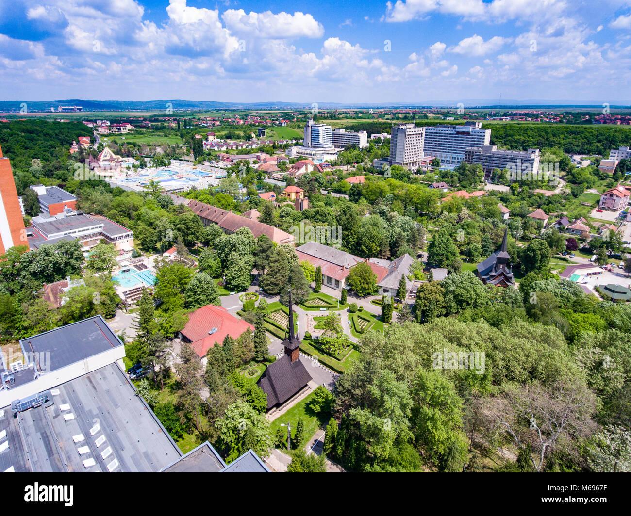 Felix Baths thermal resort (Baile Felix) near Oradea, Bihor, Romania ...