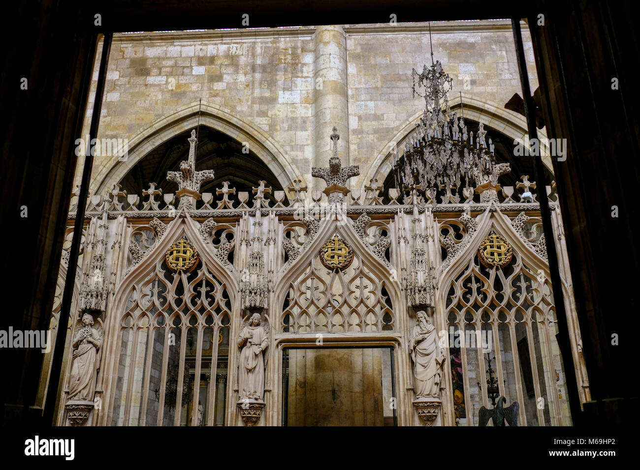 Saint-Pierre Cathedral, Condom. Le Gers Department, New Aquitaine, Midi Pyerenees. France Europe - Stock Image