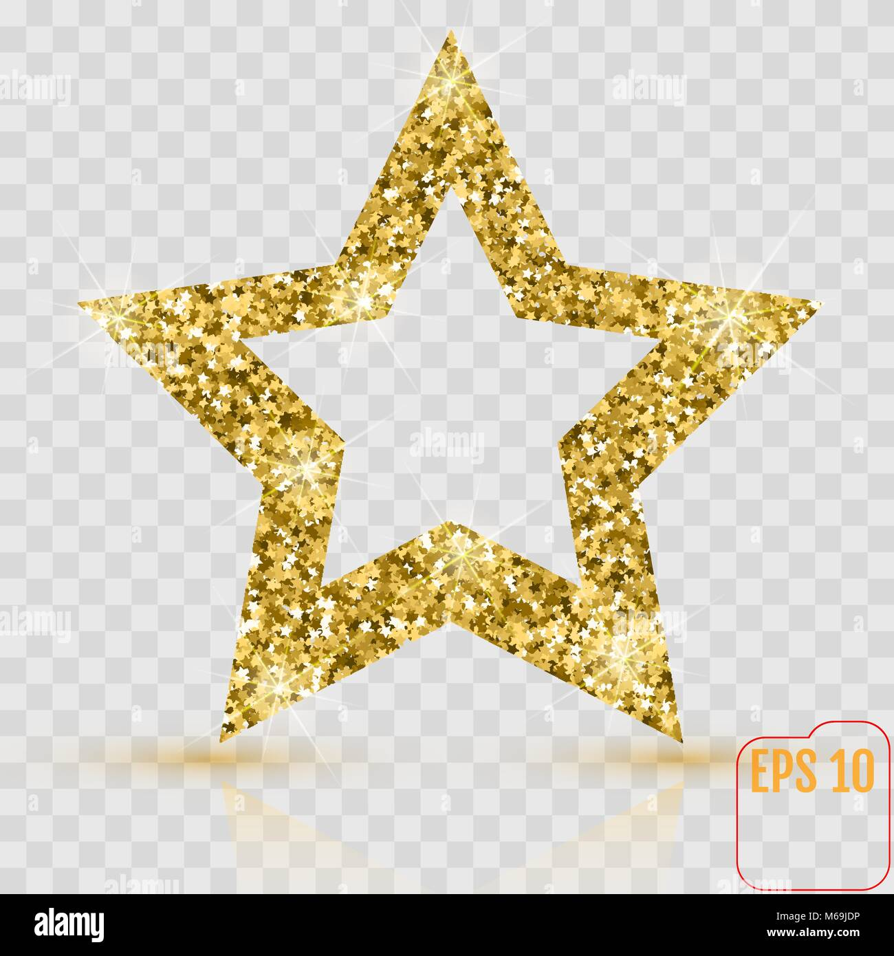 Shiny Gold Star Small Stars Stock Photos Shiny Gold Star Small