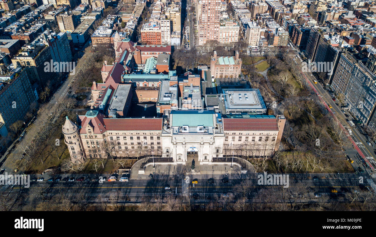 American Museum of Natural History, New York City, USA - Stock Image