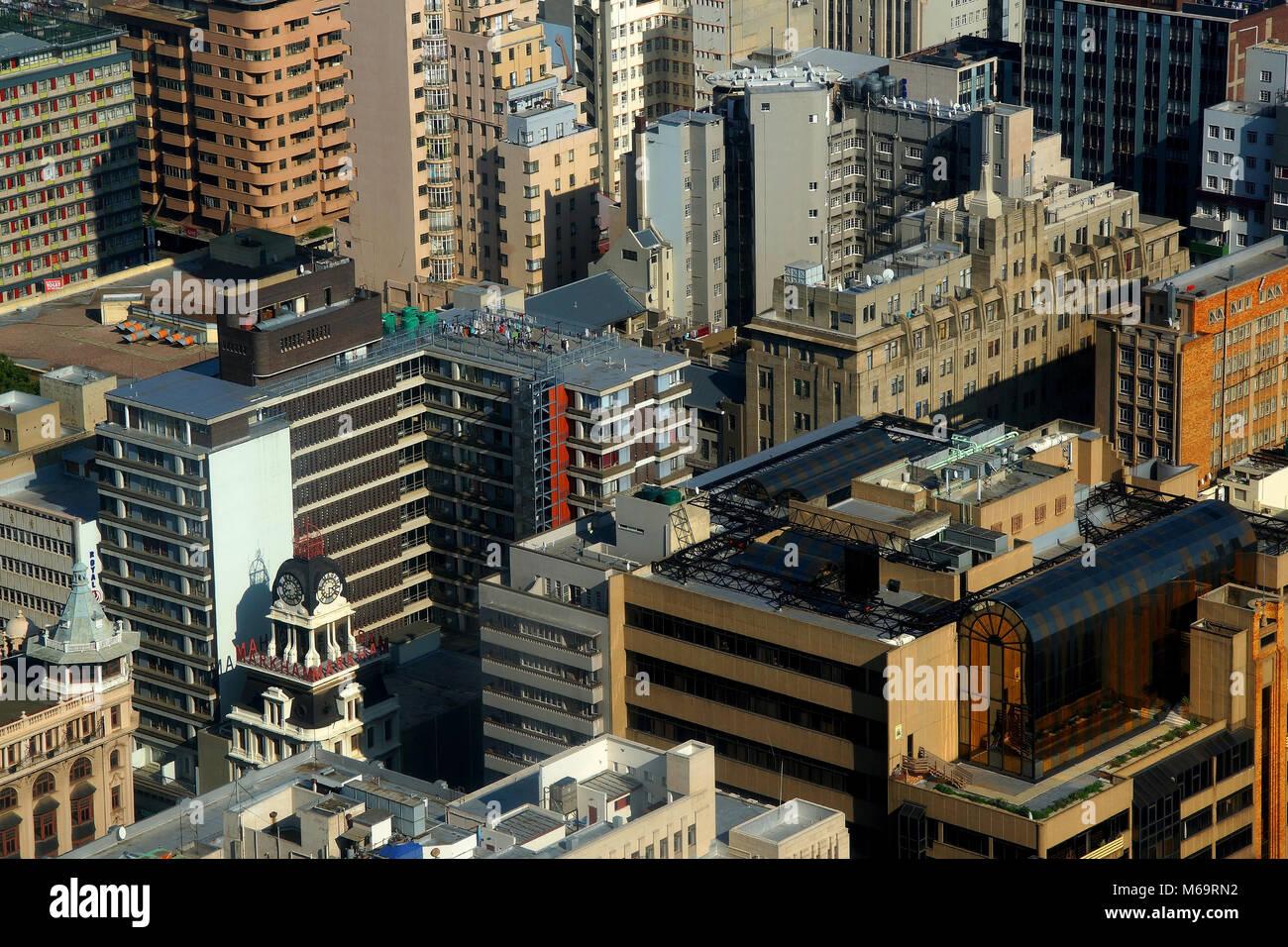 Blick auf Johannisburg, South africa - Stock Image