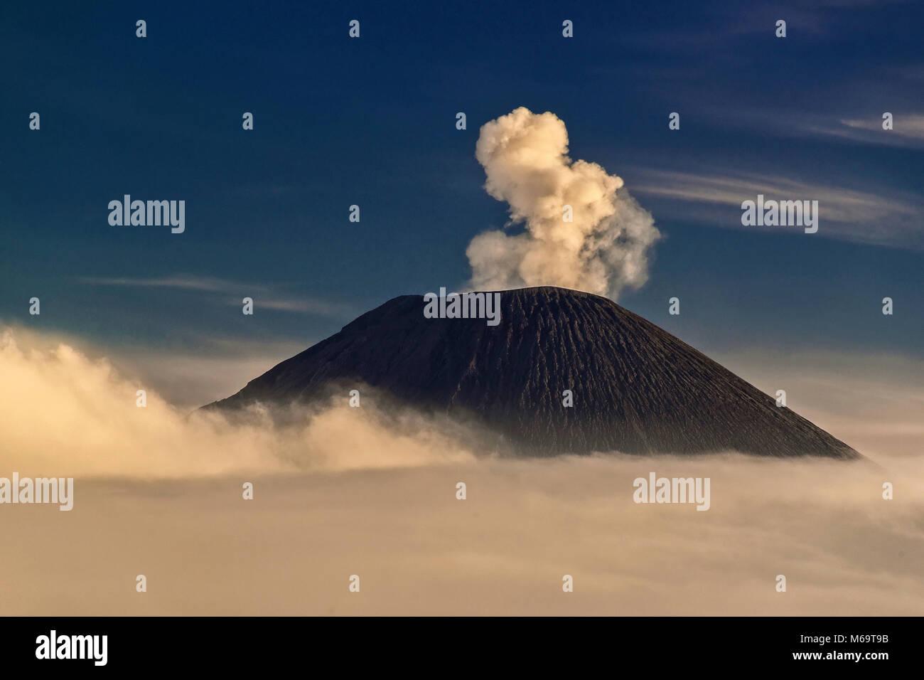 asia, Indonesia, Java, volcanoe im Bromo-Semeru Nationalpark Stock Photo