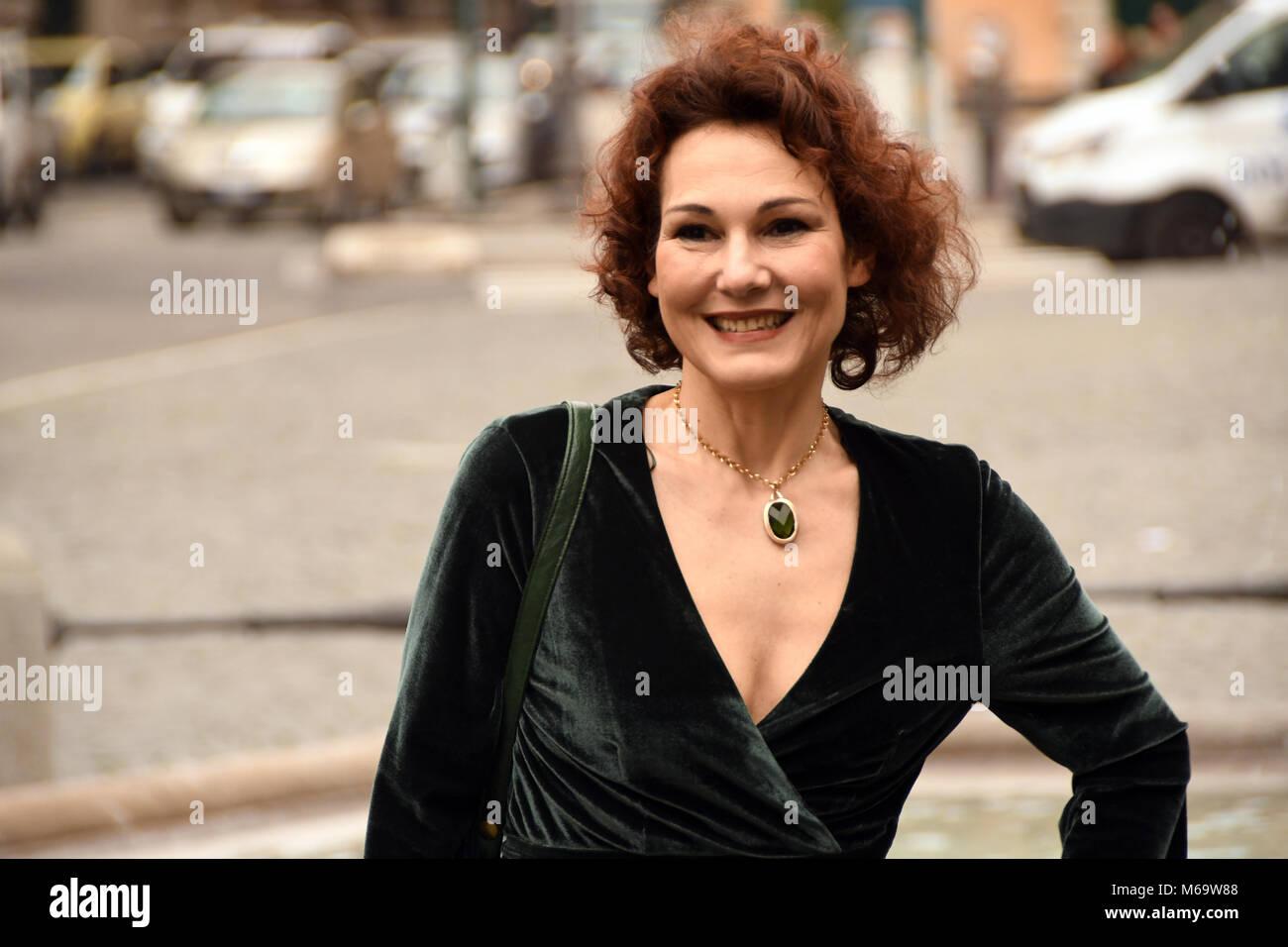 Rome Italy 1 March 2018 Place Barberini - Photocall film presentation ANCHE  SENZA DI TE,