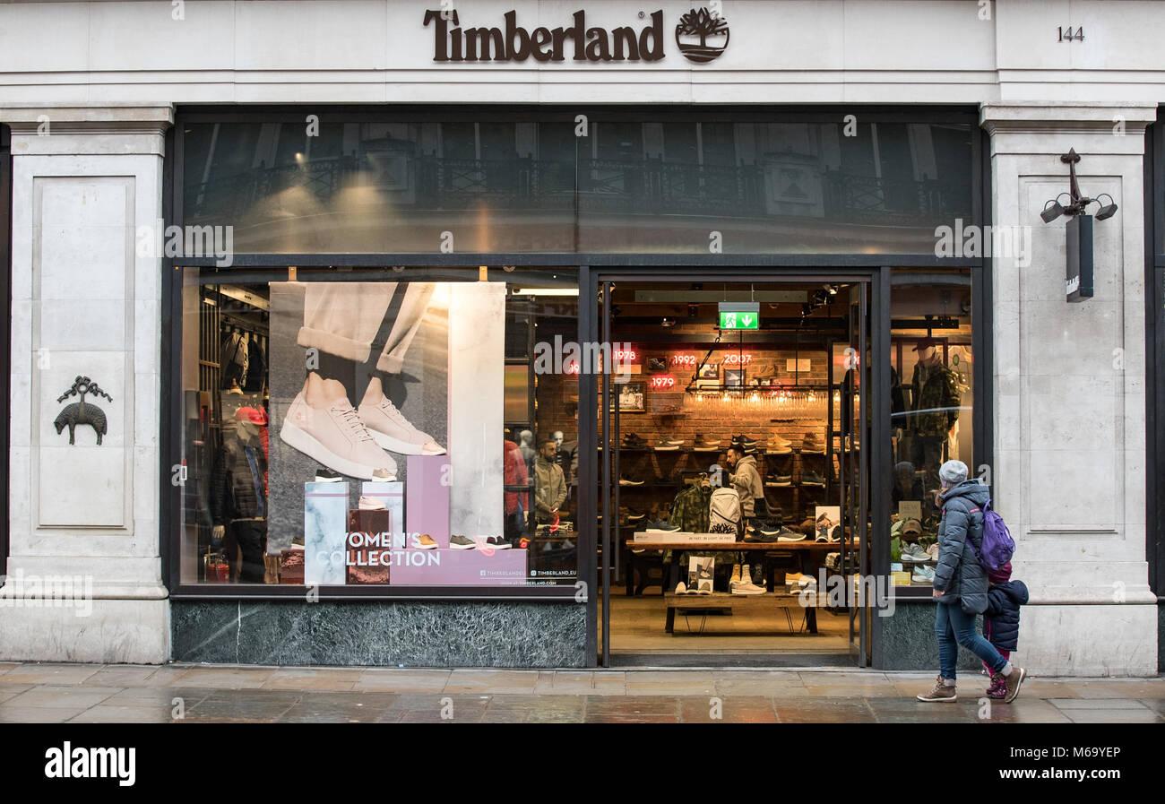 timberland london