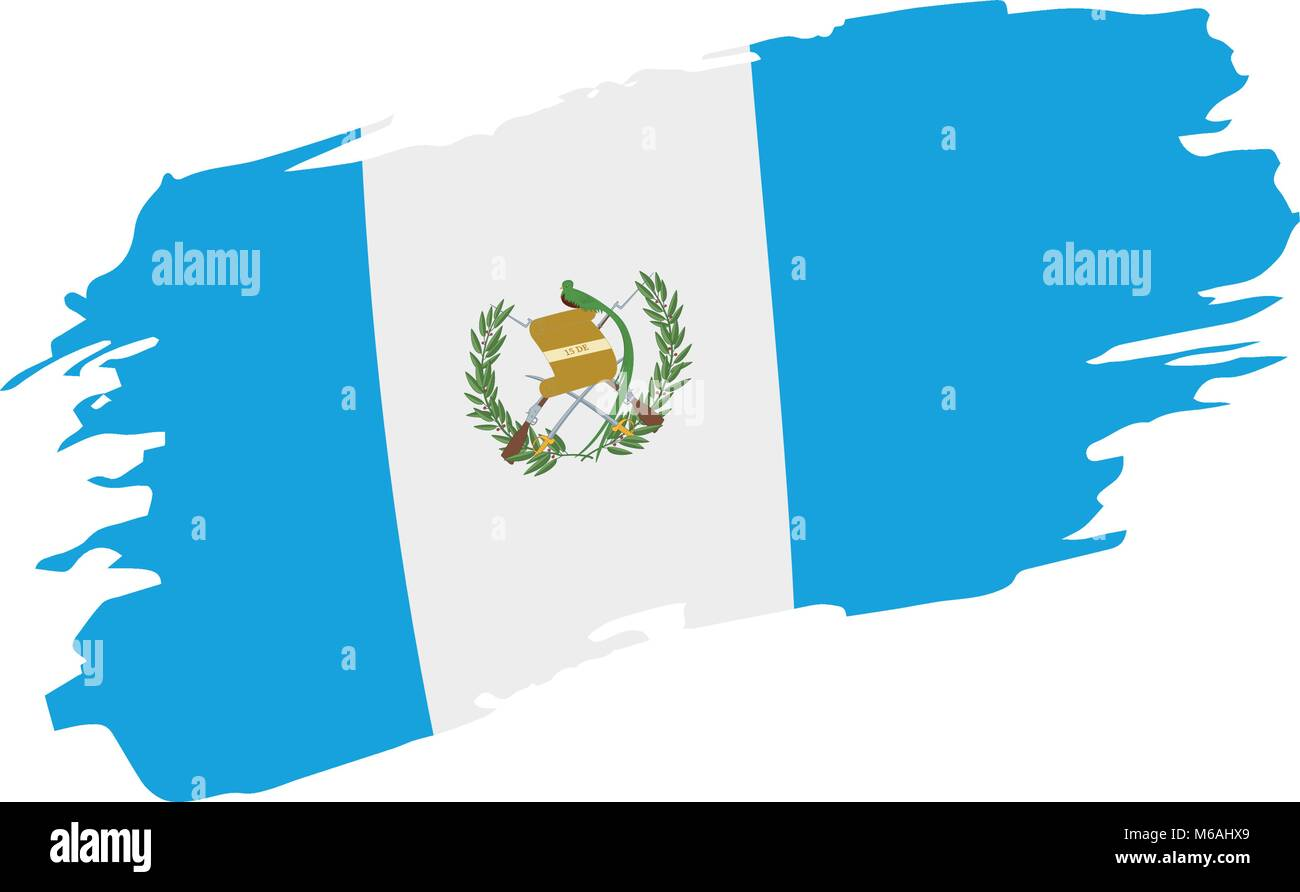 Guatemala Flag Vector Illustration Stock Vector Image Art Alamy