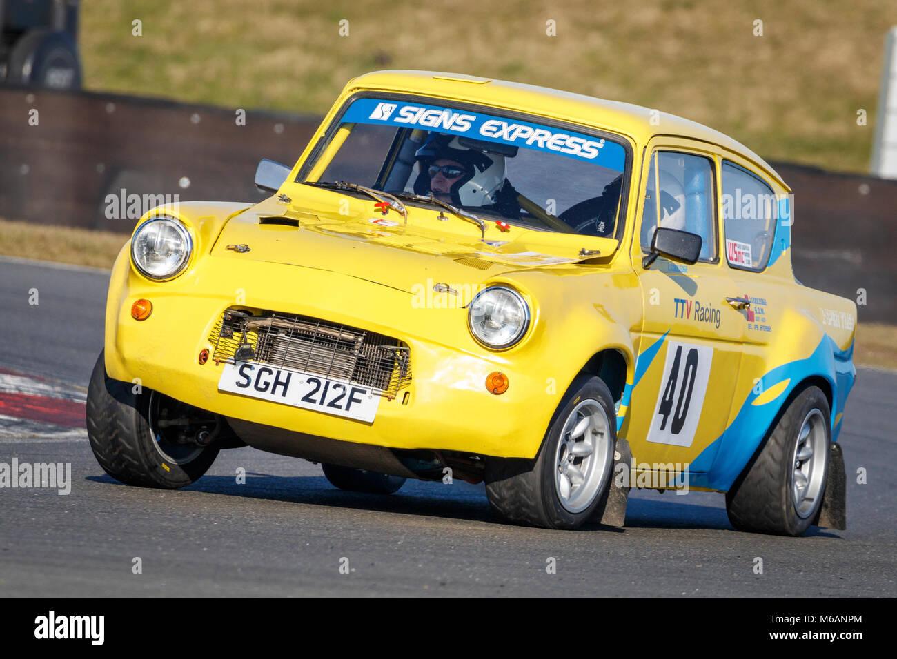 Car Club Racing At Snetterton