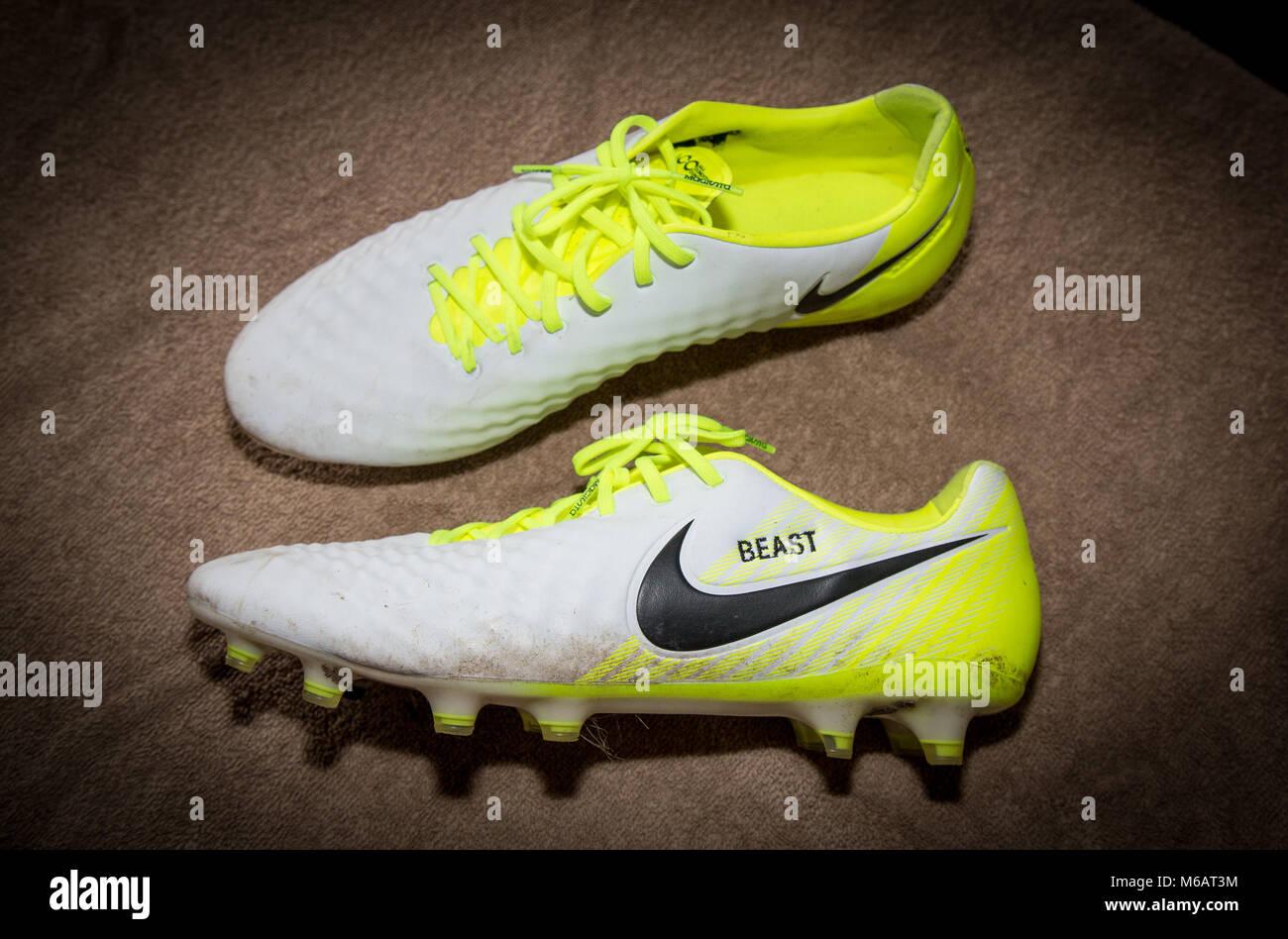best cheap more photos timeless design Adebayo Akinfenwa of Wycombe Wanderers personalised nike ...
