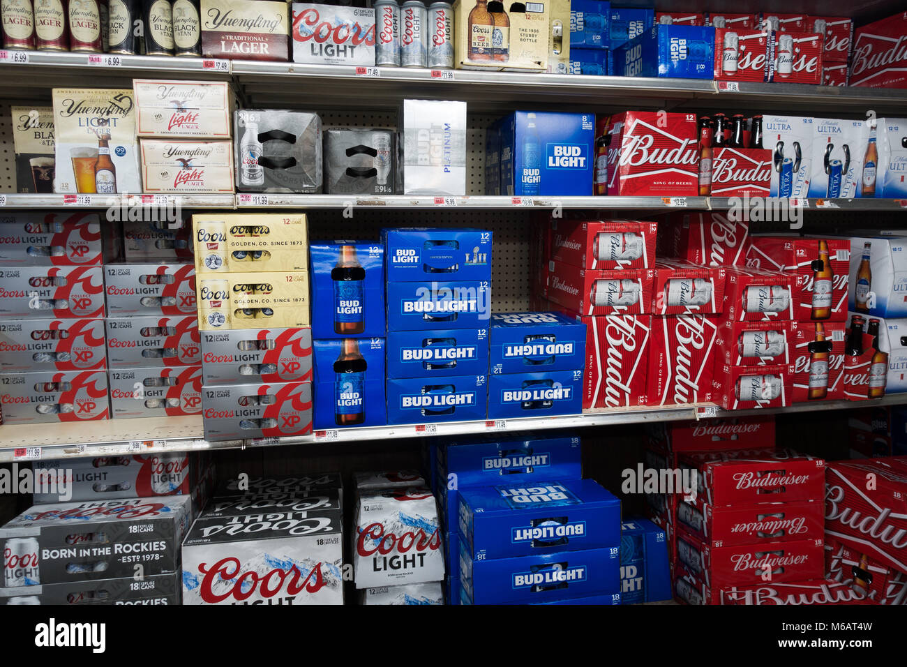 A Walk In Cooler Or Beer Cave Grocery Store Speculator