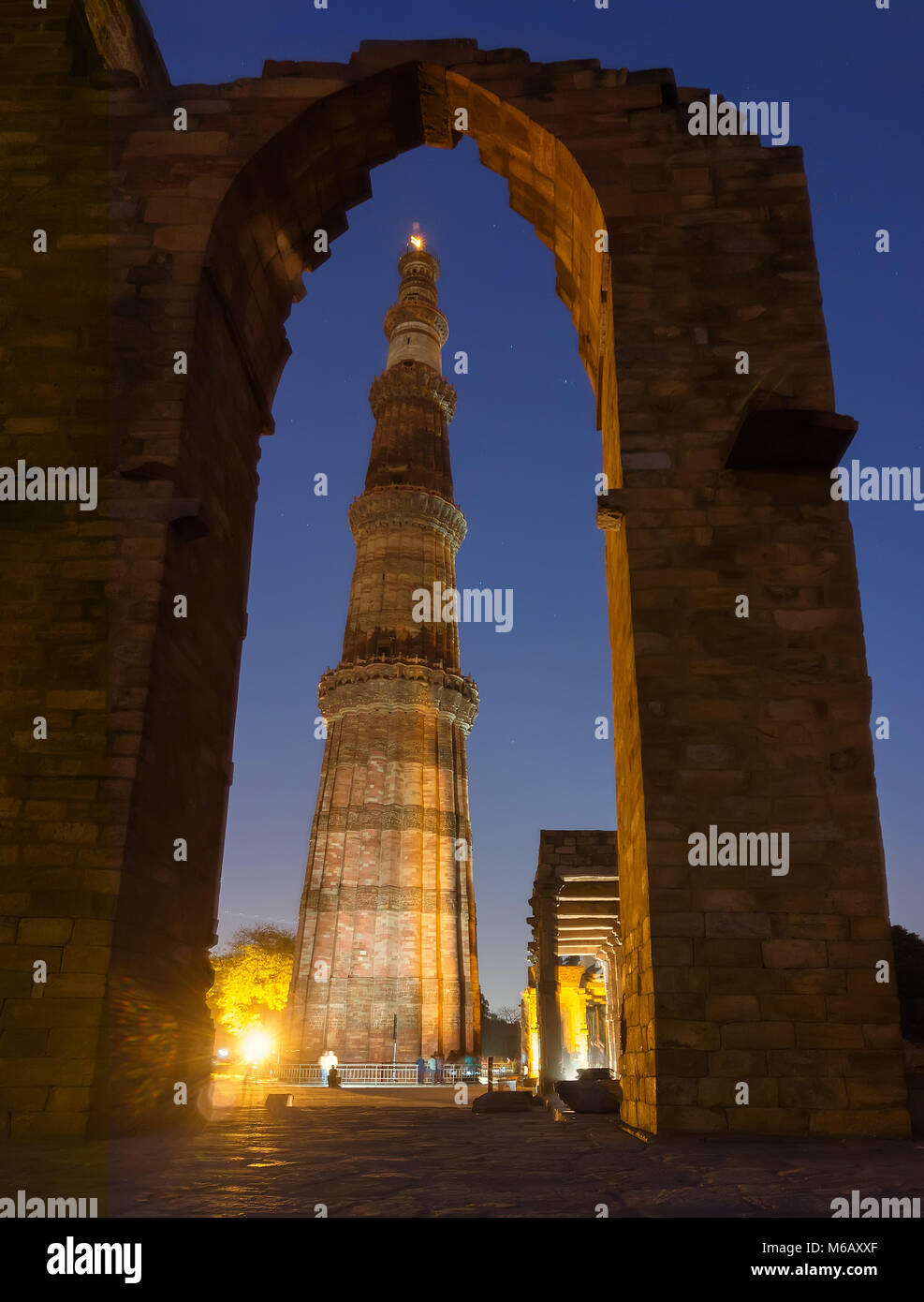 Qutub Minar - Stock Image
