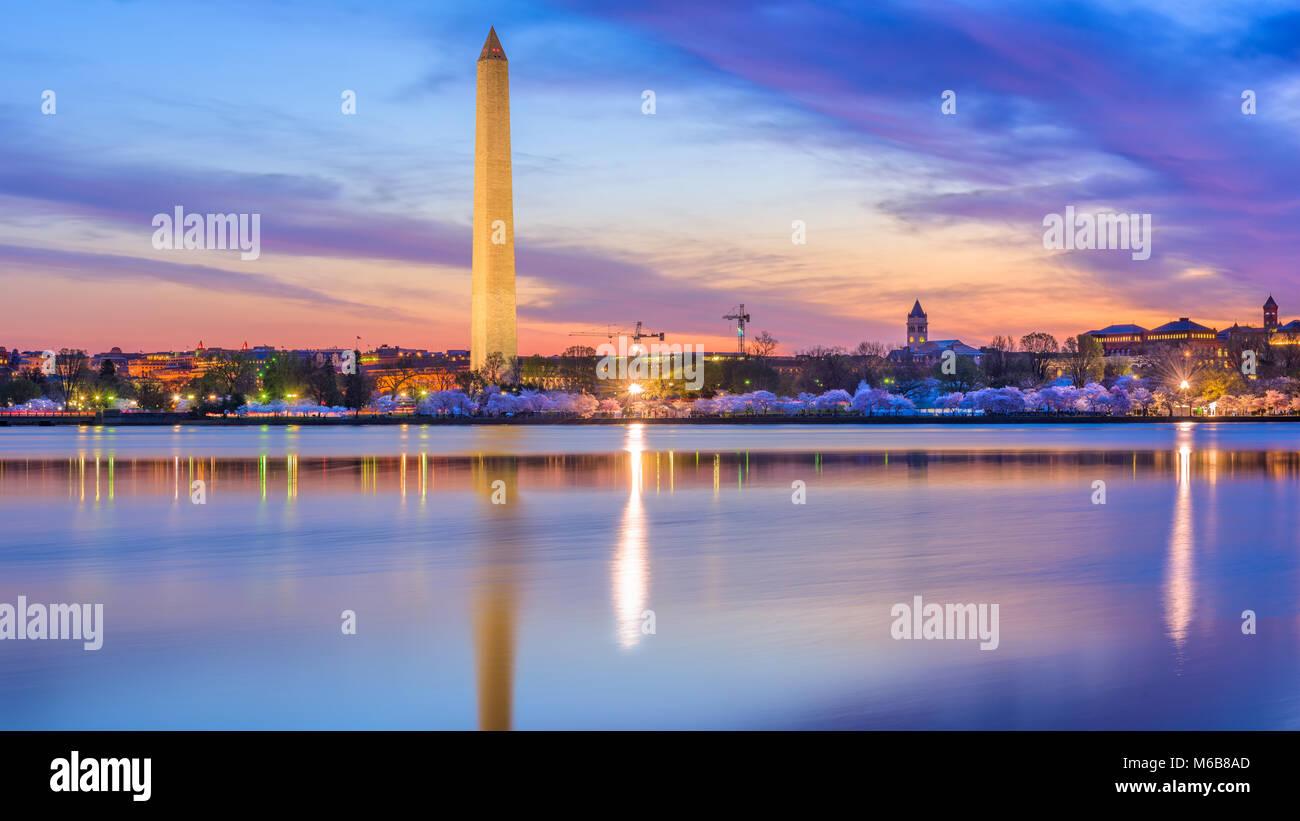 Washington DC, USA in spring season. - Stock Image