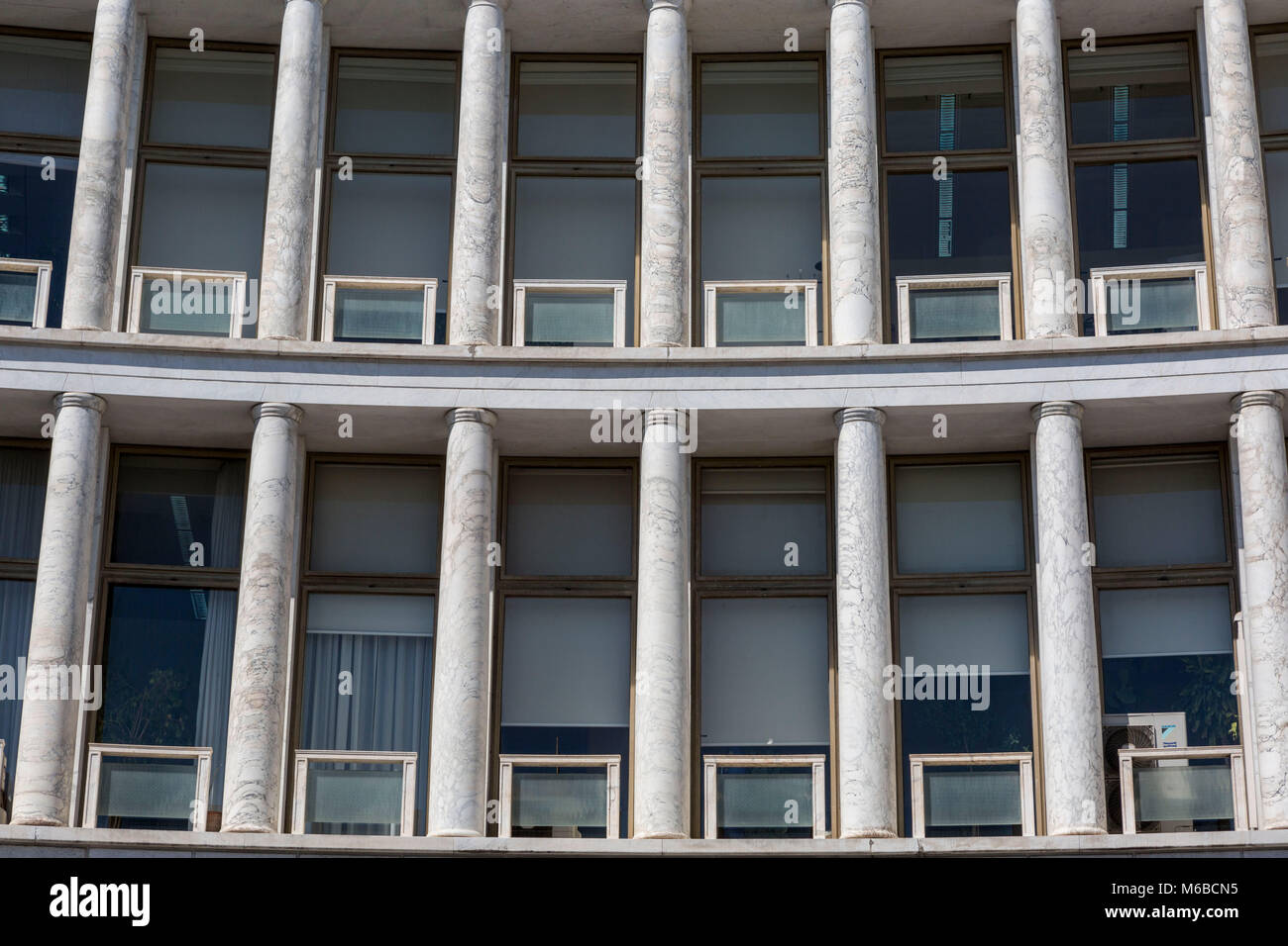 Architecture at EUR district Rome - Stock Image