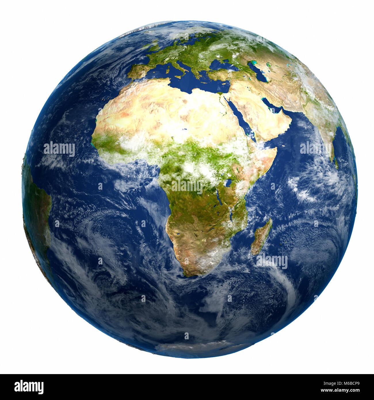 Earth Globe Map 3d Rendering Stock Photo 176043121 Alamy