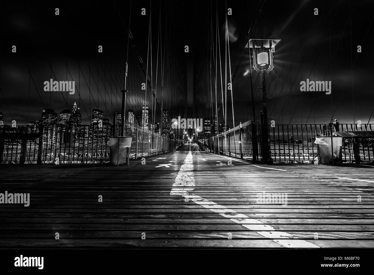Brooklyn Bridge - Stock Image
