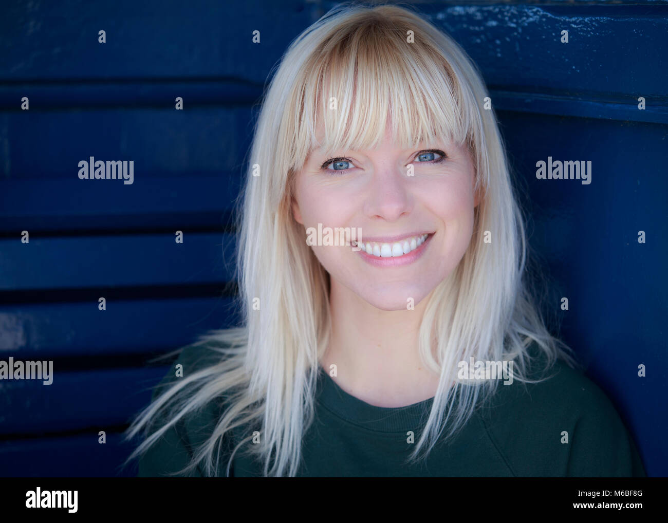 Ali James, Actor, Headshot © Clarissa Debenham / Alamy - Stock Image