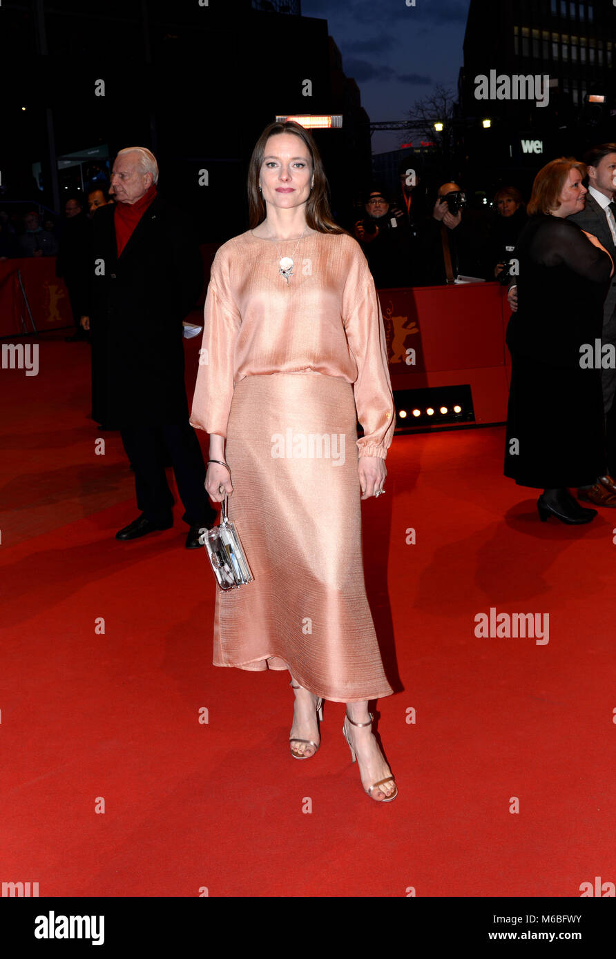 February 24th, 2018 - Berlin  Celebrities attend the closing ceremony of the Berlinale Film Festival 2018. Stock Photo