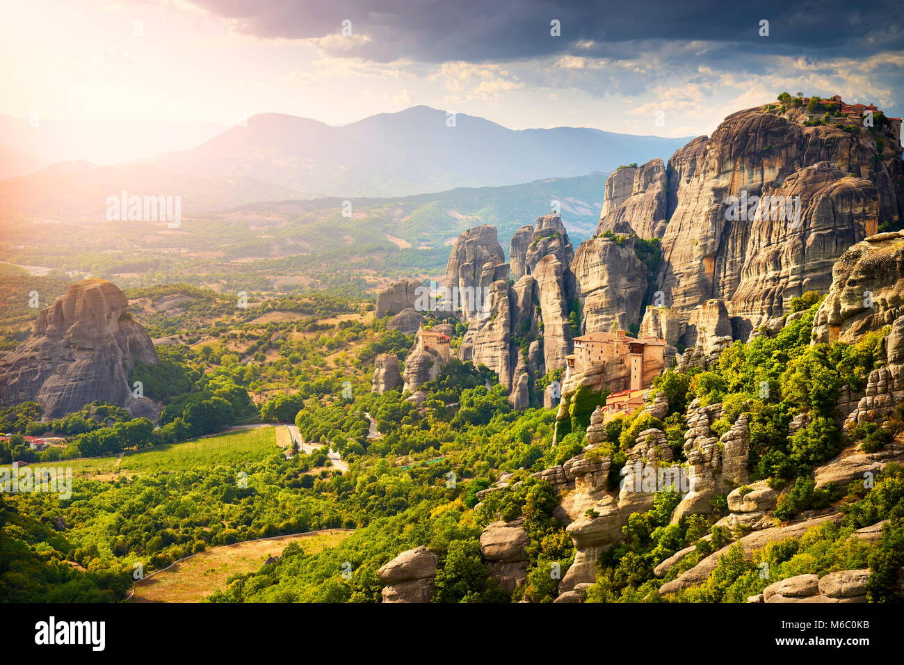 Meteora, Greece - Stock Image
