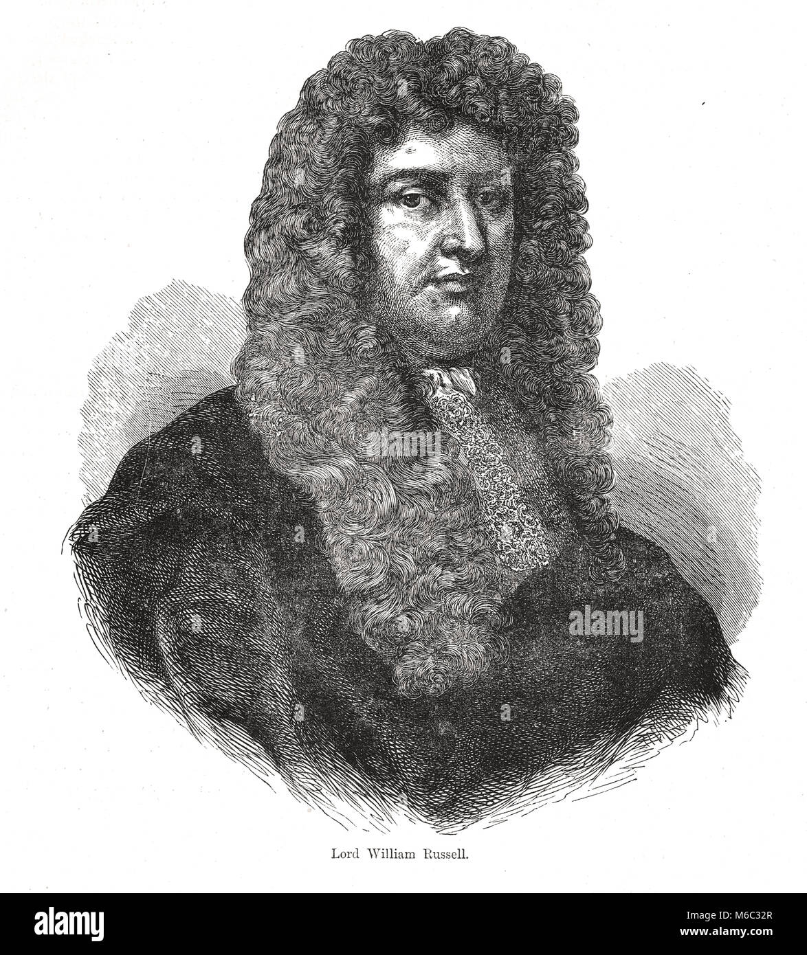 William Russell, Lord Russell, 1639 –1683 - Stock Image