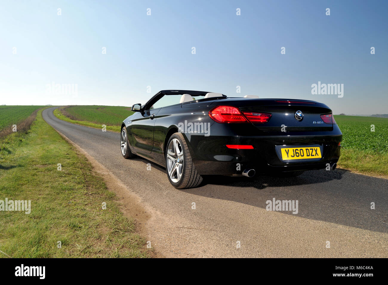 Black Bmw Convertible Stock Photos Amp Black Bmw Convertible Stock Images Alamy