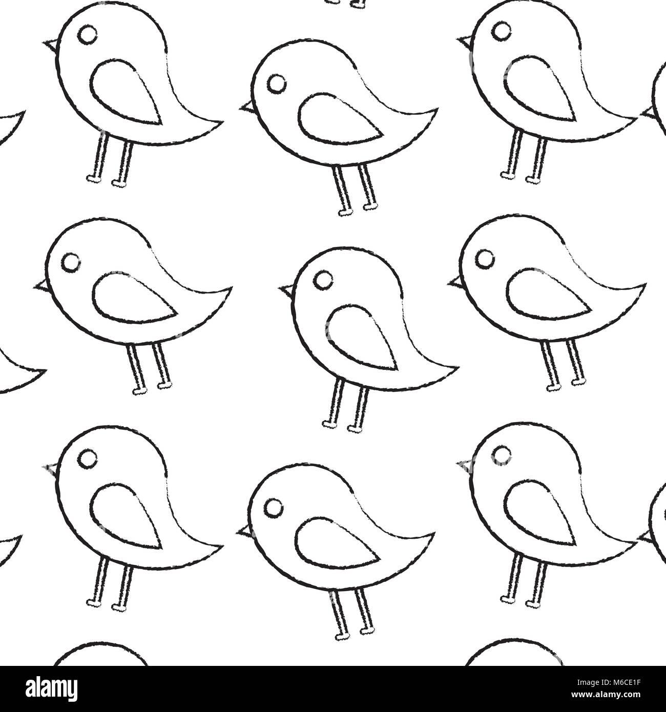 bird cartoon icon image  Stock Vector