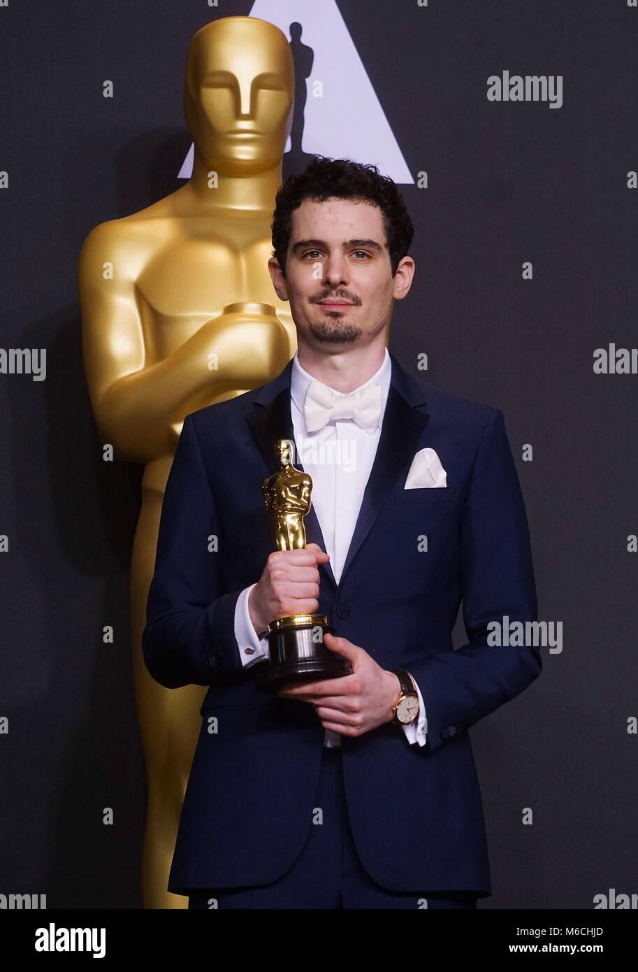 Damien Chazelle 092 89th Academy Awards ( Oscars ), press