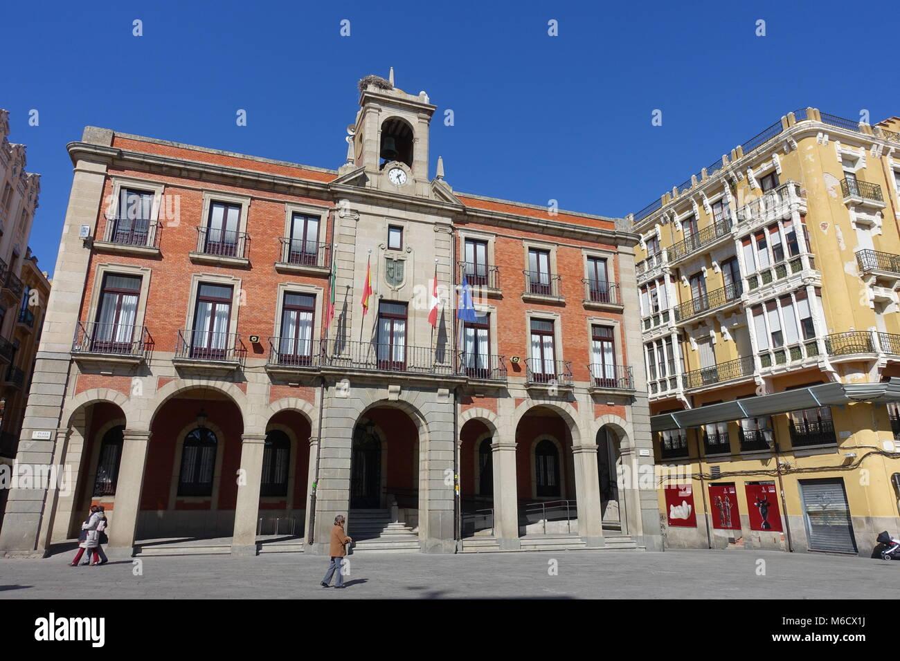 Zamora town hall. Castile-Leon, Spain - Stock Image