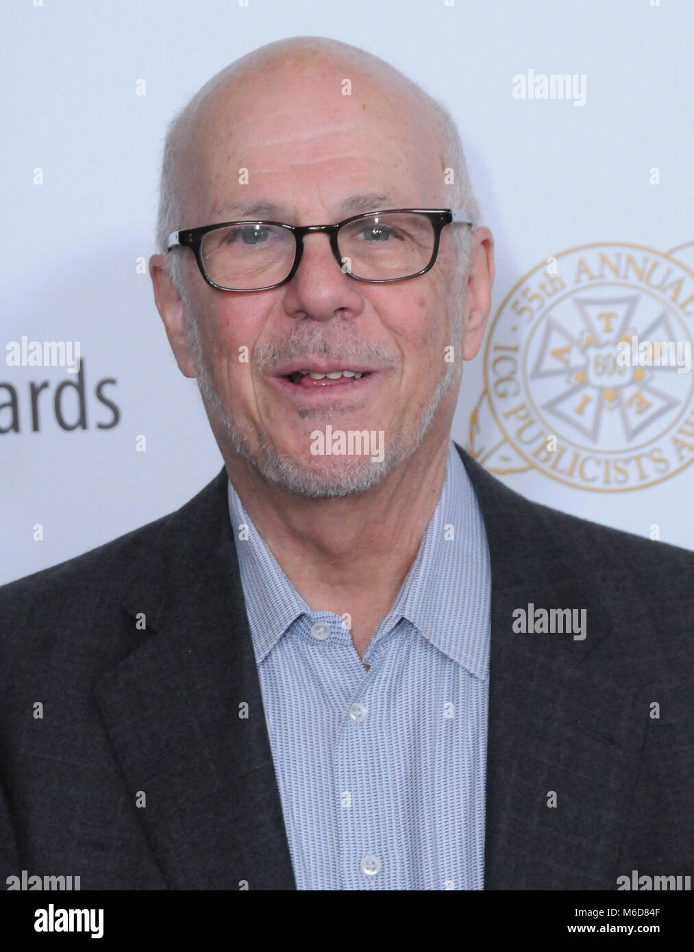 Beverly Hills, California, USA. 2nd March, 2018. Publicist STan Rosenfield attends the 55th Annual ICG Publicists - Stock Image